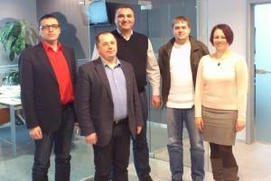 Gospodin Ivica Strišković i Danijel Hanžek u posjeti velikom poljskom distributeru filtera